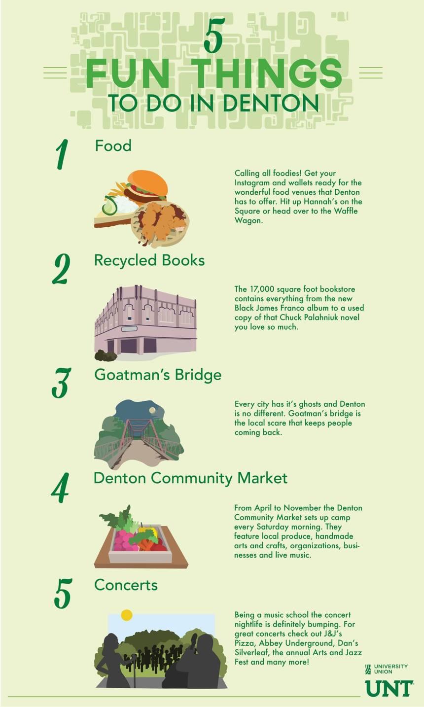 5 fun things to do in denton