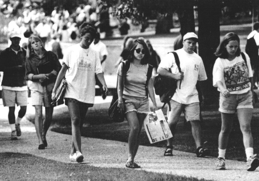 UNT Students in 1995
