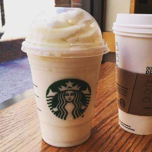 starbucks Milkybar Frappuccino